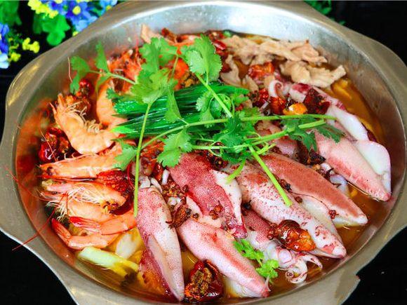 水煮三鲜2.肥牛土鸡煲3.五谷杂粮饭4.酸汤农家5.橄榄油减肥影响吗图片