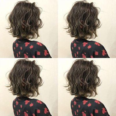 丽人 美发图库 中发完美卷效果图  3663 创意烫发 中发 女 护理图片