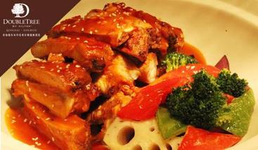 【海西等】中浩希尔顿逸林酒店西餐自助-美团