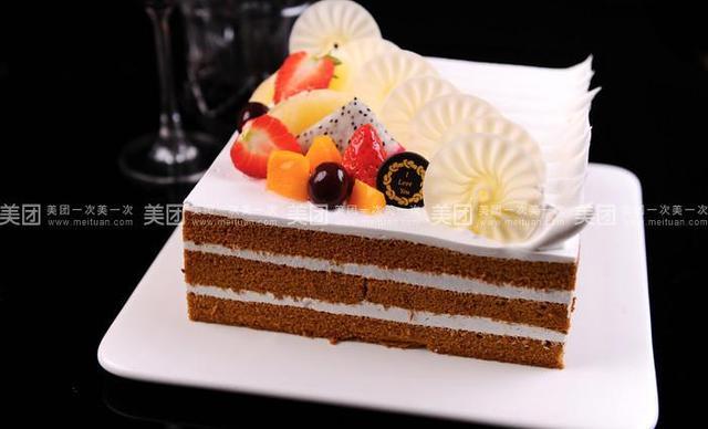 爱思客蛋糕,仅售128元!价值228元的蛋糕5选1,约12英寸,方形。