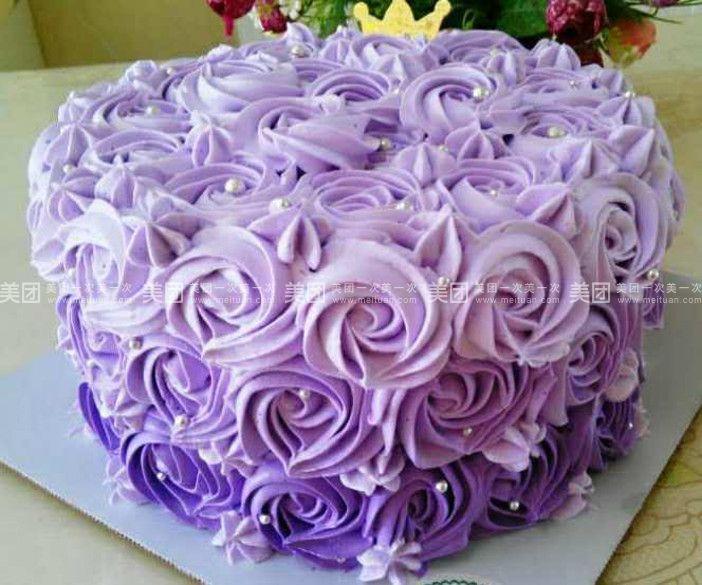 美食团购 甜点饮品 余小鱼甜品   水果彩虹蛋糕规格:约6 英寸 1,圆形