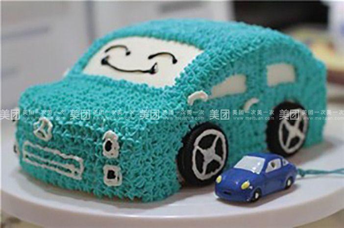 汽车蛋糕1