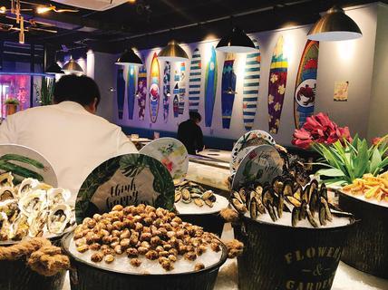 服务员就… 阅读全文 1  /  2 蓝蟹·嗨海鲜自助餐厅 月下love 2018年