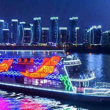 【高新区】步步高游船(东堤旅游码头)20:30开船5人票成人票-美团