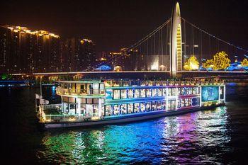 【客村/赤岗】珠江夜游广州塔码头-美团