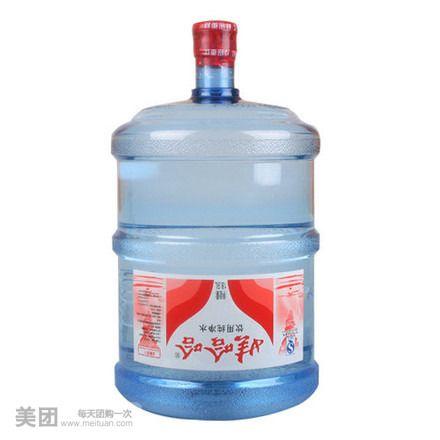 【咸阳娃哈哈桶装水团购】娃哈哈桶装水单人餐团购