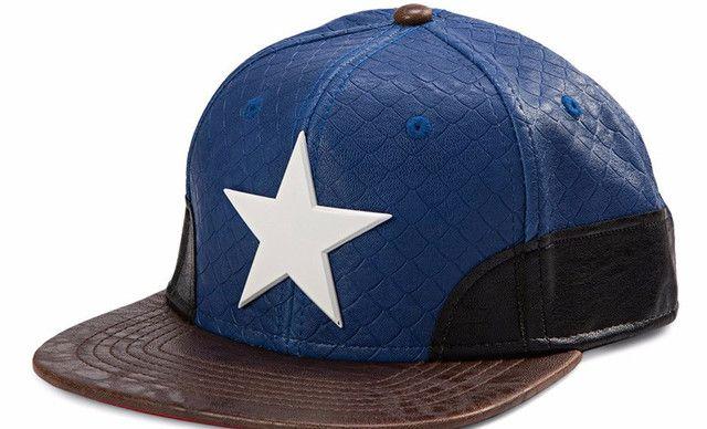 【《美国队长3:内战》人造革金属标识帽子】《美国队长3:内战》人造革金属标识帽子