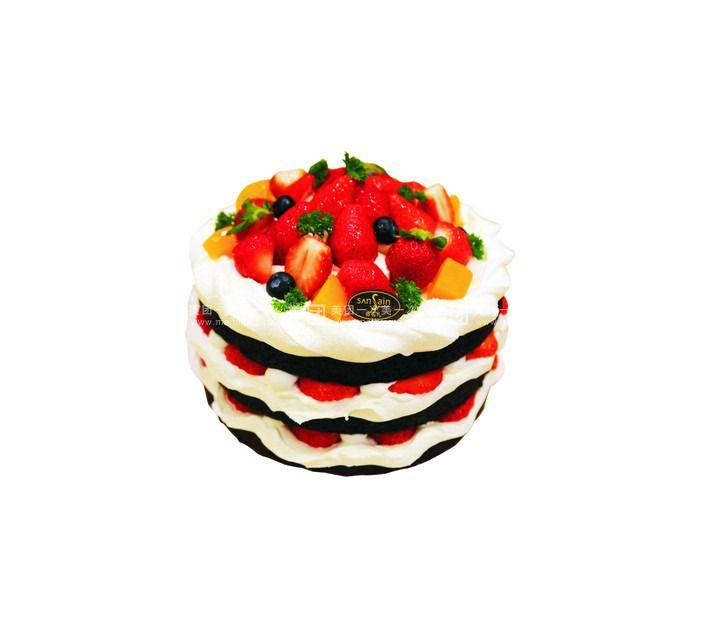 欧式情人节蛋糕
