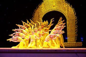 【普陀山】普陀山佛教盛典《观世音》大型演出-美团