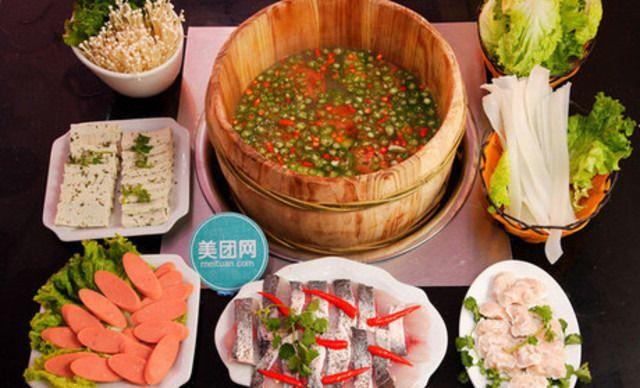 汉中正红木桶鱼【正红木桶鱼】2-3人餐