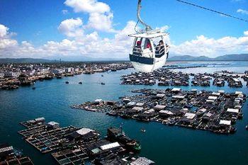 【陵水县】南湾猴岛景区门票+缆车+疍家海上鱼排海鲜套餐成人票-美团