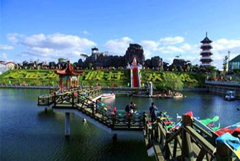 【蓬莱市】黄金河度假村动物园门票(双人票)-美团