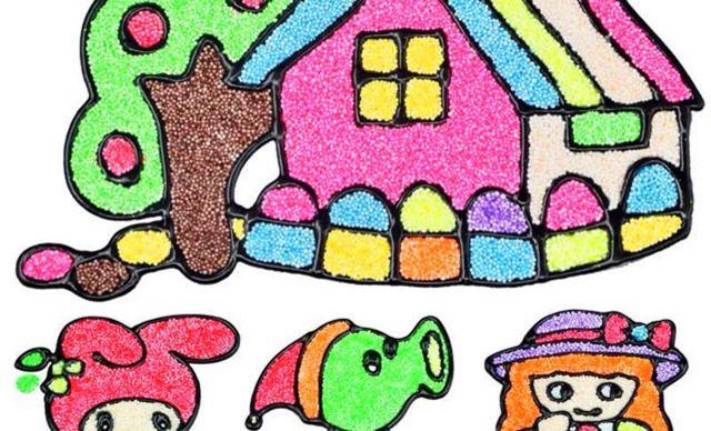 迷宫儿童手绘画