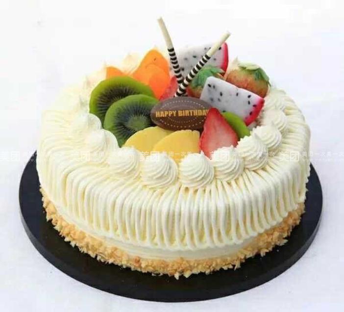 美食团购 甜点饮品 海淀区 魏公村 美味多   欧式水果蛋糕a10  规格