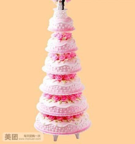 金宝来蛋糕怎么样 团购金宝来蛋糕6层鲜奶水果蛋糕 美团网图片