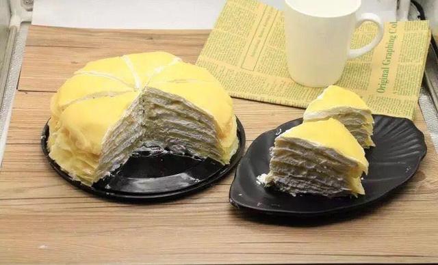 艾米利亚蛋糕榴莲千层,仅售108元!价值168元的榴莲千层1个,约8英寸,圆形。
