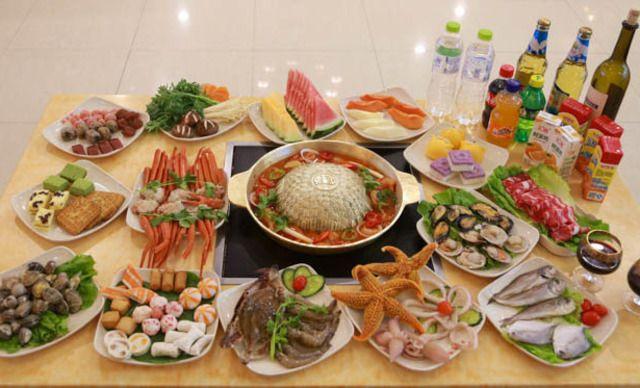 【第一百货】韩·将军一锅两吃自助火锅烤肉