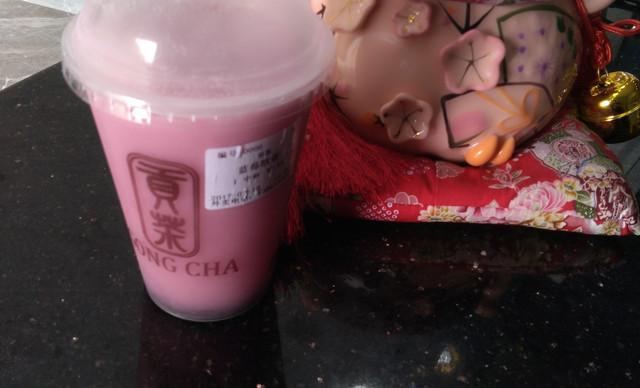 :长沙今日团购:【贡茶】蓝莓欧蕾1中杯