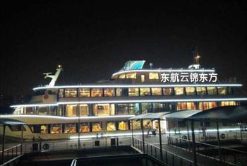 【北外滩】黄浦江游览秦皇岛路码头蓝森号游船船票+VIP桌餐成人票-美团