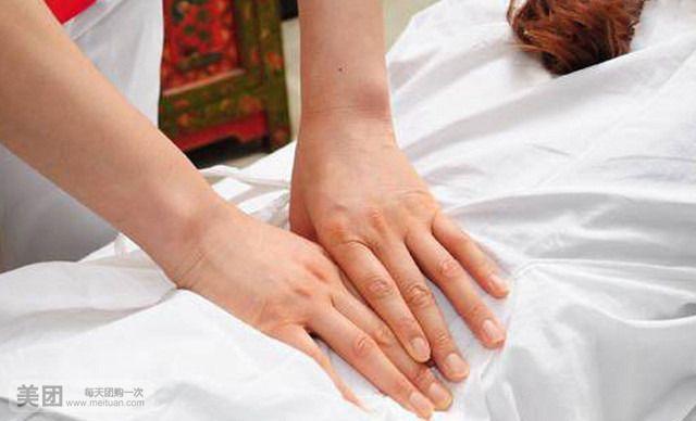 传统中医推拿按摩治疗急性腰椎扭伤