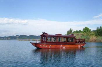 【明珠花园】千岛湖钓鱼岛观光游船成人票-美团