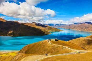 【拉萨出发】羊卓雍湖、卡若拉冰川、扎什伦布寺2日跟团游*后藏日喀则纯玩2日游-美团