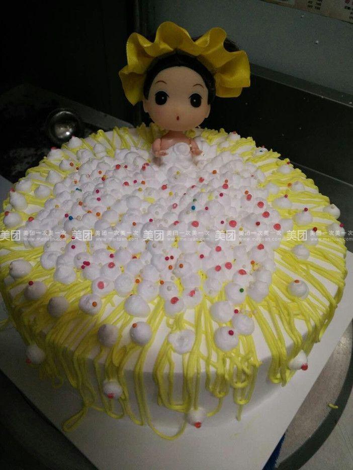 洗澡芭比娃娃蛋糕图片
