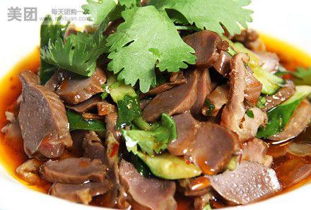 卤水千叶豆腐   葱油鲈鱼   口味鸭胗   精致美味,与友人一起感受