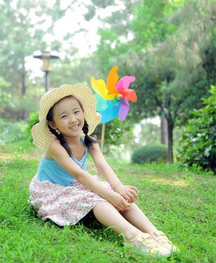 纸飞机儿童摄影
