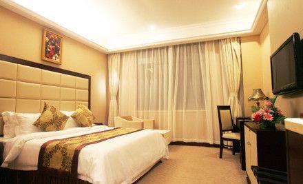鸿锦国际酒店:住宿1晚,赠送早餐,节假日通用
