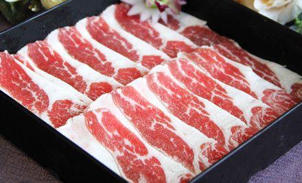 和牛御品寿喜锅:单人自助晚餐,节假日通用,免费停车