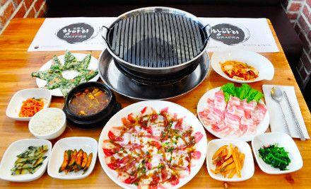 双人套餐,赠小菜+酱料+蔬菜+大麦茶,节假日通用