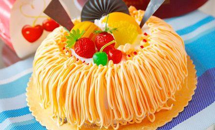10英寸暗香物语蛋糕1个,香甜美味,邀您共享