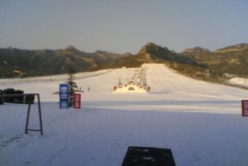 【井陉矿区】清凉山滑雪场-美团