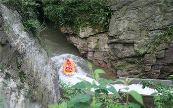 【平乐县】仙境湖峡谷漂流门票(成人票)-美团