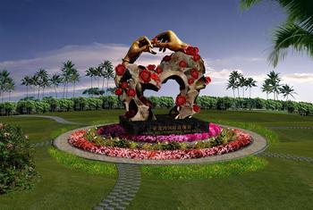 【亚龙湾】亚龙湾国际玫瑰谷门票+游览车(双人票)-美团