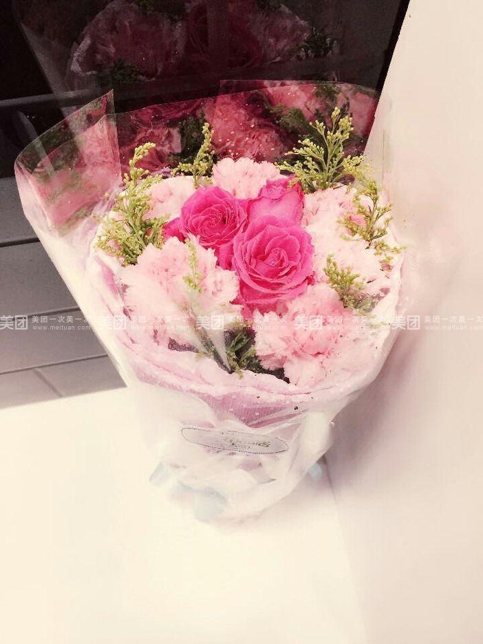 欧式包花束图片
