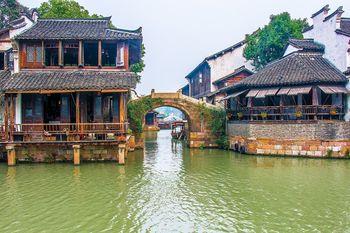 【上海出发】乌镇东栅、财神湾、林家铺子等无自费1日跟团游*上海到乌镇一日游-美团