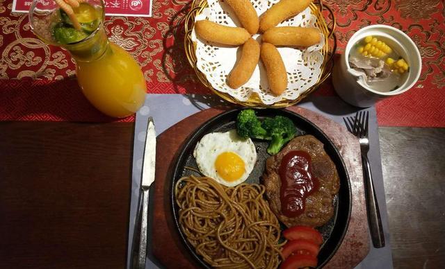 【茶花荟中西餐厅】单人西餐,提供免费WiFi