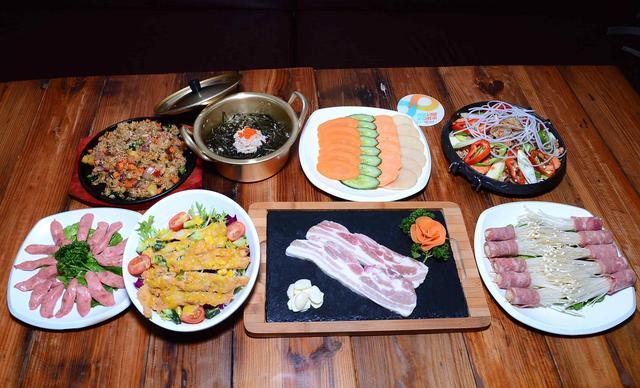 【尚槿格调韩式料理】尊品四人套餐,提供免费WiFi