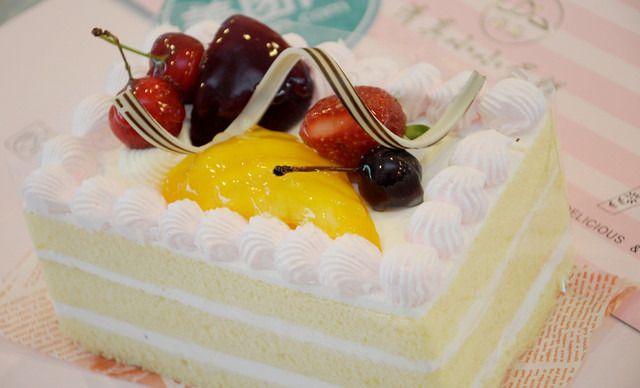 长方形蛋糕盘手工制作图片