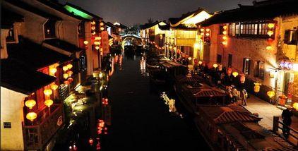 【盘门】苏州古运河-美团