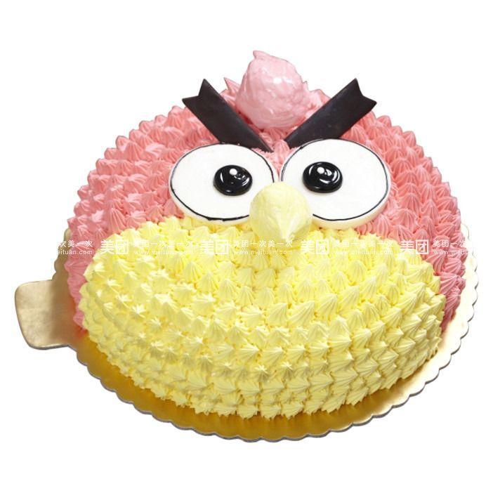 丰源蛋糕    海绵宝宝   一周岁   愤怒的小鸟   小狐   规格   蛋糕