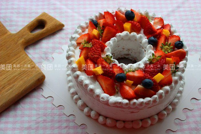 手工制作圣诞蛋糕