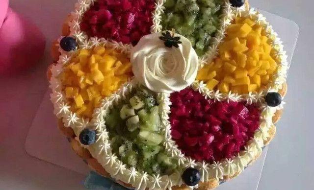 :长沙今日团购:【欧麦维依烘焙坊】12英寸水果蛋糕 领先推出蛋糕店 送货上门贴心服务 同城6公里可免费配送到家服务1,约12英寸,