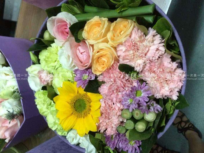 19支康乃馨欧式花纸包装