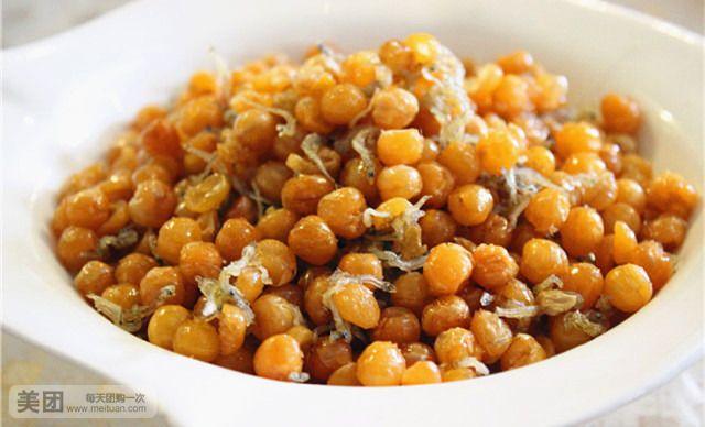 丁香鱼酥豆