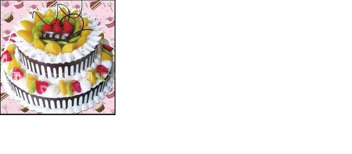 蛋糕ppt素材  矢量图