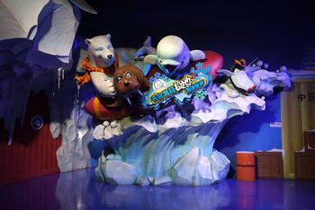【全国】青岛极地海洋世界极地馆+欢乐剧场门票+深海奇幻门票亲子票1大1小票-美团