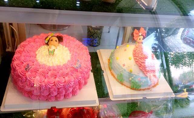 :长沙今日团购:【罗蒂公主】娃娃蛋糕1,约10英寸,圆形